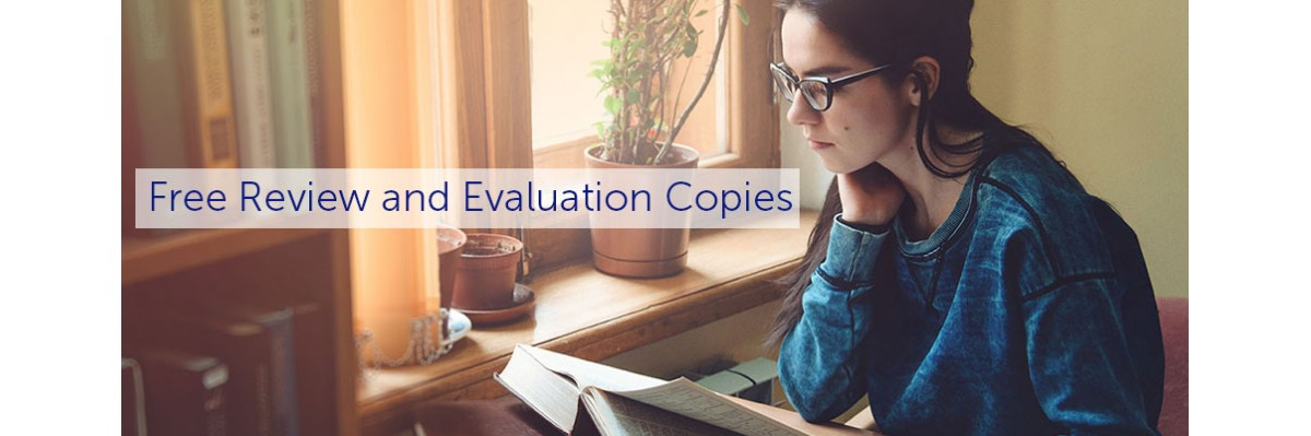 Free Review and Evaluation Copies